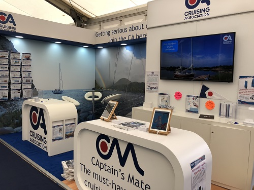 CA stand at Southampton Boat Show