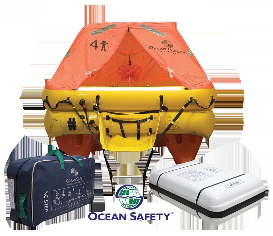 Ocean Safety Liferaft and EPIRB prize
