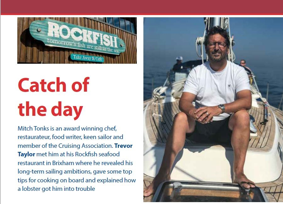 Mitch Tonks, Rockfish Restaurant